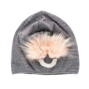 Fendi Bug Eye Wool-Knit Beanie